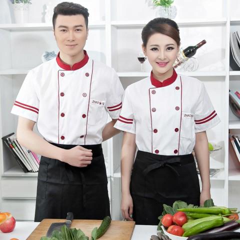 Đồng phục bếp mẫu 56
