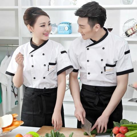Đồng phục bếp mẫu 57