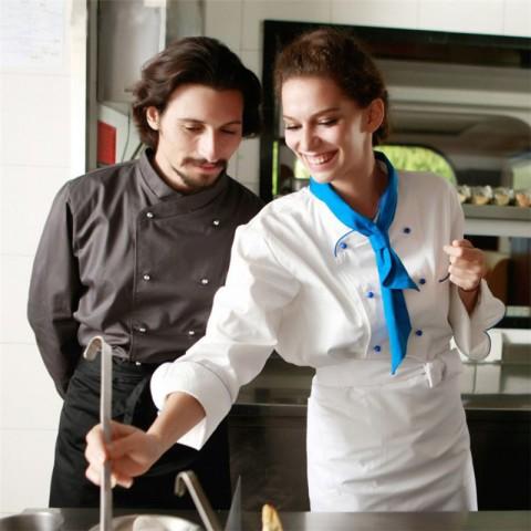 Đồng phục bếp mẫu 64