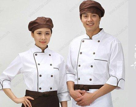 Đồng phục bếp mẫu 70