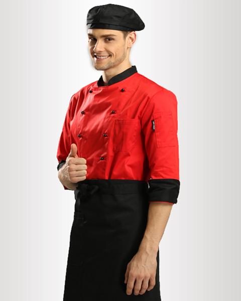 Đồng phục bếp mẫu 55