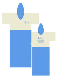 Áo mưa cánh dơi mẫu 52