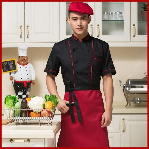 Đồng phục bếp mẫu 25