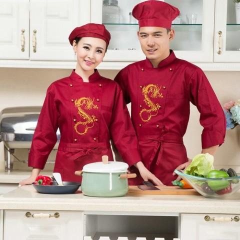 Đồng phục bếp mẫu 30