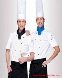 Đồng phục bếp mẫu 74
