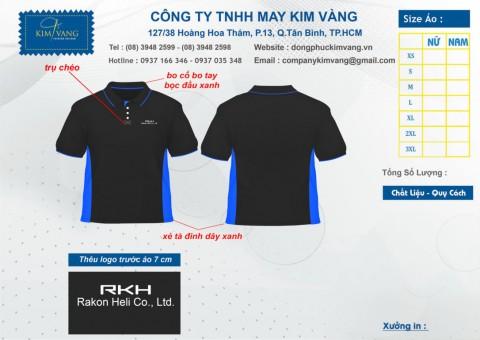 AO THUN DONG PHUC- MẪU 1