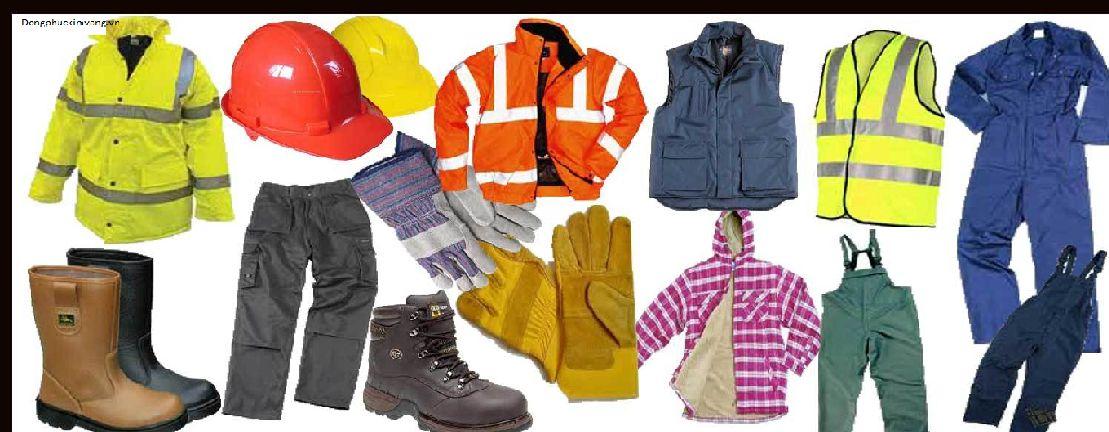 những vật dụng trong đồng phục bảo hộ lao động